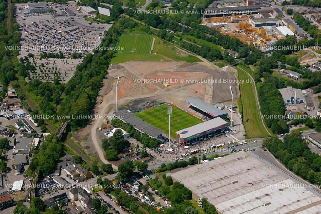 ES10058518 | RWE- Stadion Hafenstrasse,  Essen, Ruhrgebiet, Nordrhein-Westfalen, Germany, Europa, Foto: hans@blossey.eu, 29.05.2010