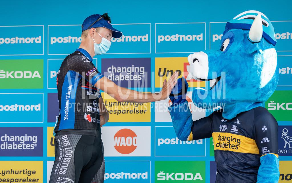 31st PostNord Danmark Rundt - Tour of Denmark 2021, Stage 01 Struer - Esbjerg; Esbjerg (Finish), 10.08.2021   31st PostNord Danmark Rundt - Tour of Denmark 2021, Stage 01 Struer - Esbjerg; Esbjerg (Finish), 10.08.2021, JENSEN Frederik Irgens (BHS - PL Beton Bornholm)