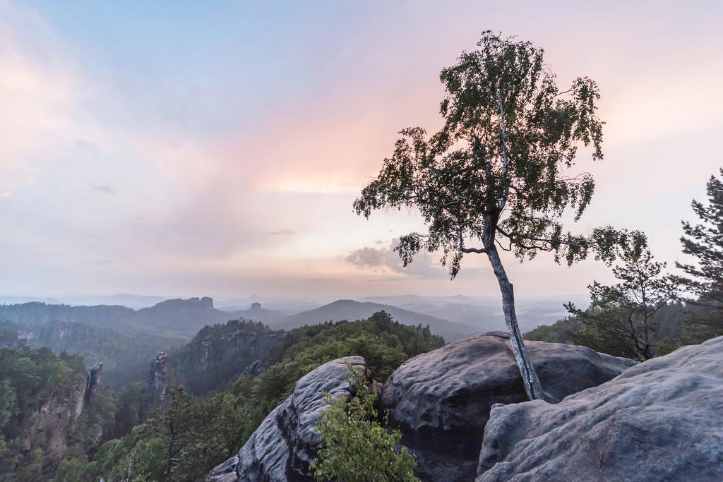Carolafelsen, Sächsische Schweiz | Die Serie 'Deutschlands Landschaften' zeigt die schönsten und wildesten deutschen Landschaften.