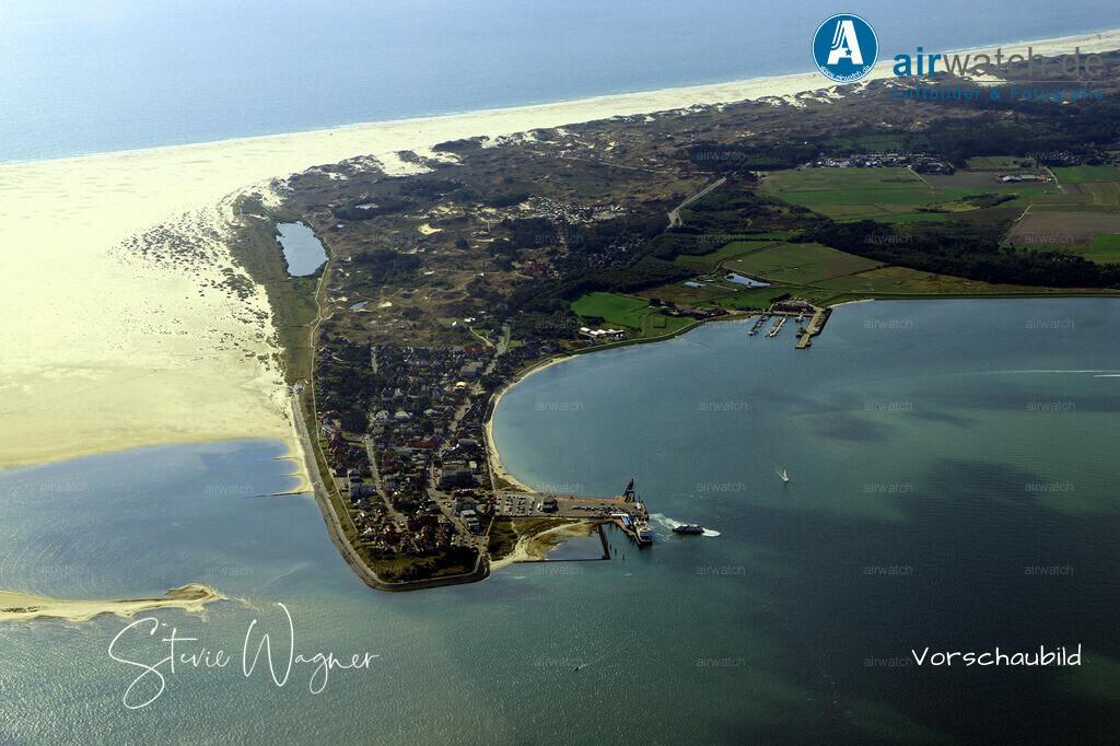 Luftbild Nordsee, Amrumer Faehrhafen, Wittduen | Nordsee, Amrumer Faehrhafen, Wittduen, Luftbild, Luftaufnahme, aerophoto, Luftbildfotografie, Luftbilder  • max. 6240 x 4160 pix