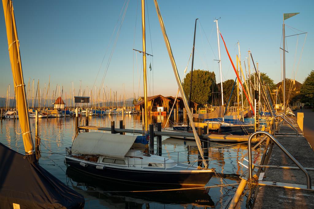 Hafen des Yachtclubs Lindau