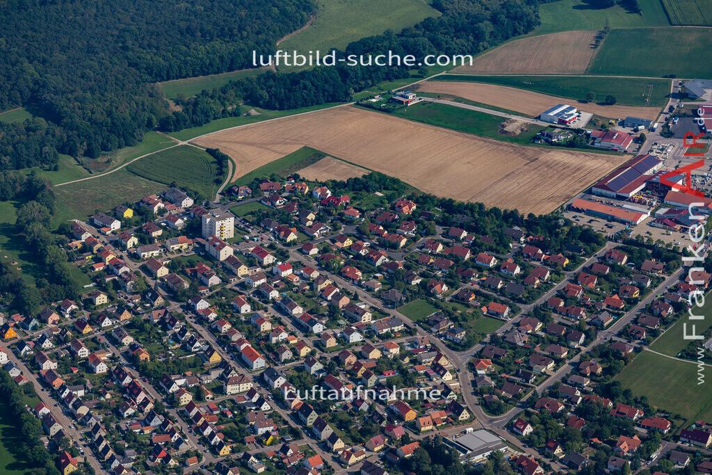 uffenheim-19-753 | aktuelles Luftbild von  Uffenheim - Luftaufnahme wurde 2019 von https://frankenair.de mittels Flugzeug (keine Drohne) erstellt.