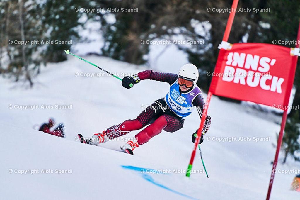 ALS5525_WWMG_GS-II_C | (C) FotoLois.com, Alois Spandl, WinterWorldMastersGames 2020 Innsbruck, Giant Slalom-II Gruppe C Damen, Patscherkofel Olympiaabfahrt, Mi 15. Jänner 2020.