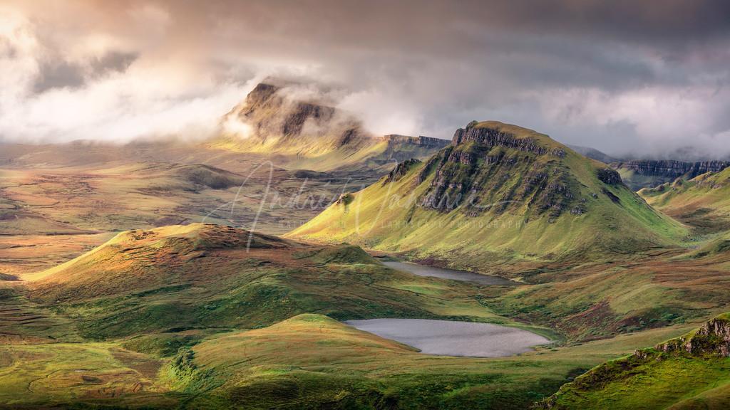 Morgenlicht auf den Hügeln