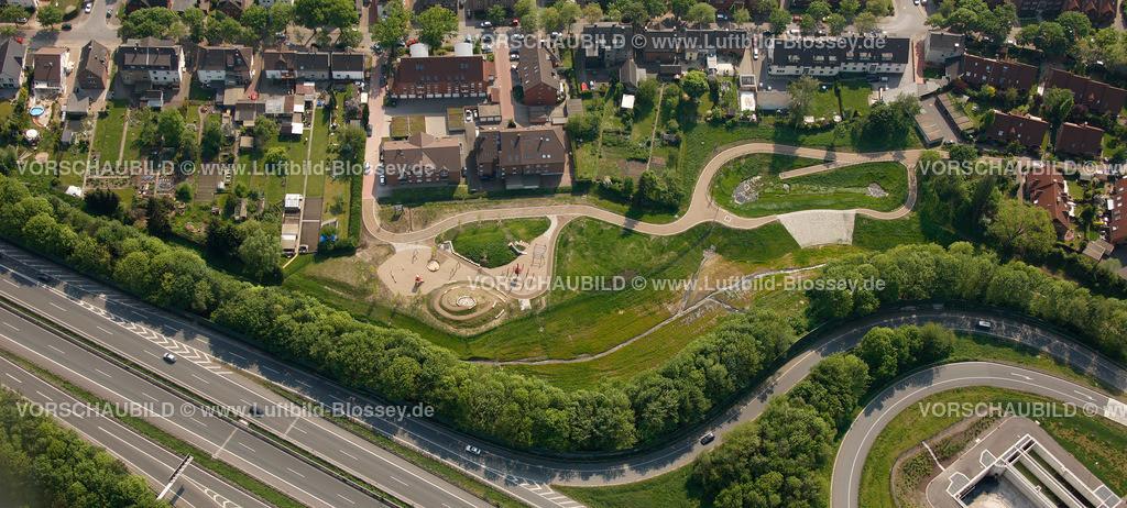 RE11046335 | Hochlar Wiesenstrasse, Spielplatz, Spiellandschaft,  Recklinghausen, Ruhrgebiet, Nordrhein-Westfalen, Germany, Europa