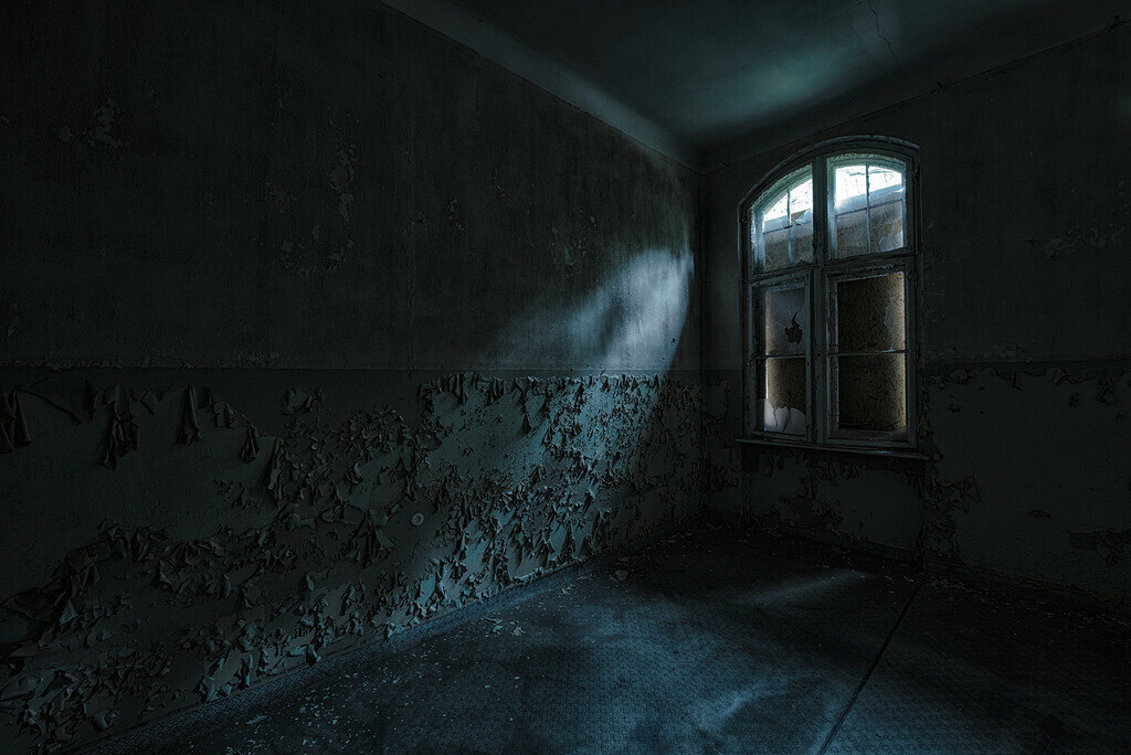 Einzelzimmer | Krankenzimmer in den Beelitz Heilstätten