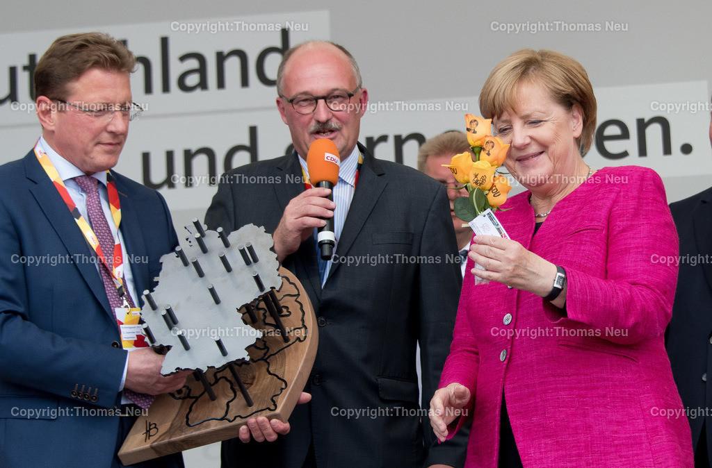 DSC_8010 | Heppenheim, Wahlveranstaltung, CDU, Angela Merkel auf dem parkhof, ,, Bild: Thomas Neu