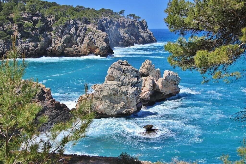 Bucht von Cala Deia