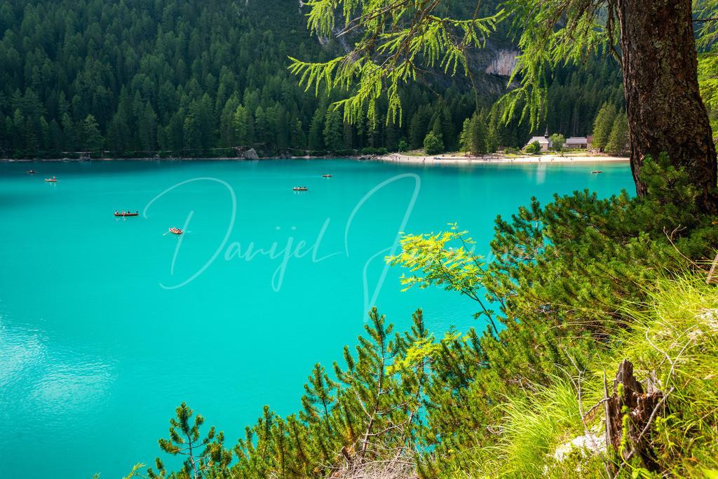 Pragser Wildsee | Der Pragser Wildsee (Lago di Braies) ist ein Naturjuwel in den Dolomiten