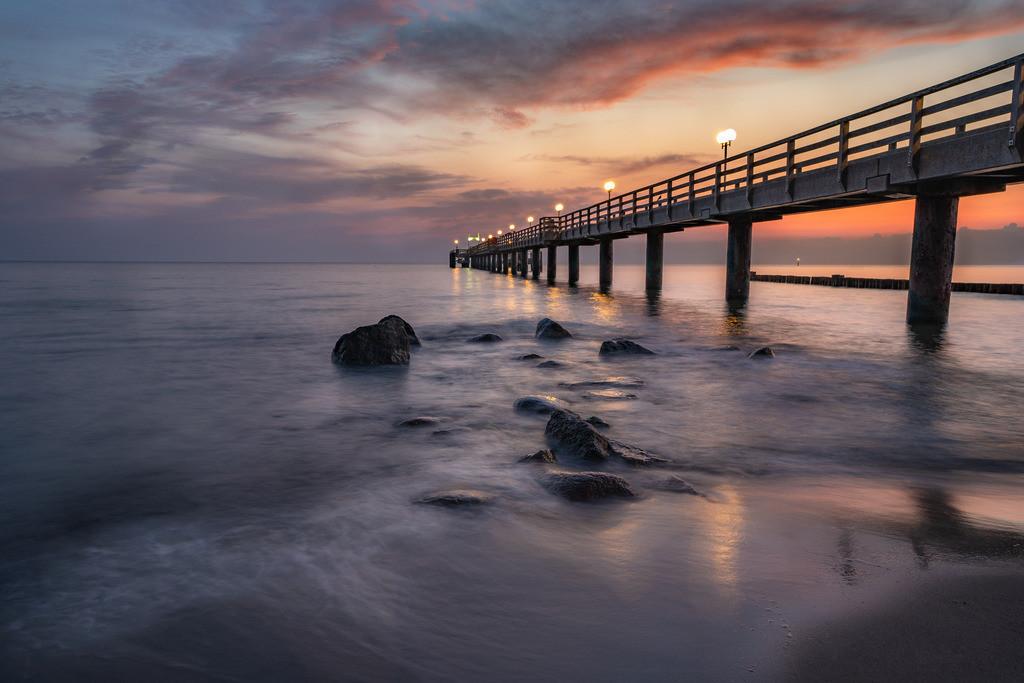 Sunrise an der Seebrücke 2