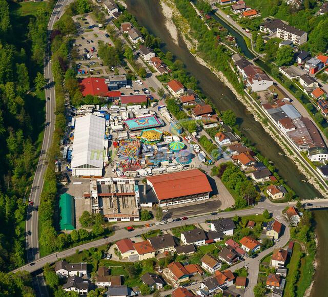 luftbild-traunstein-fruehligsfest-bruno-kapeller-40 | Luftaufnahme vom Traunsteiner Fruehlingsfest 2019