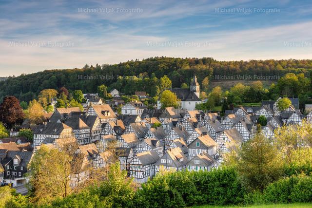 Freudenberg im Siegerland | Blick auf den historischen Kern Freudenbergs, den