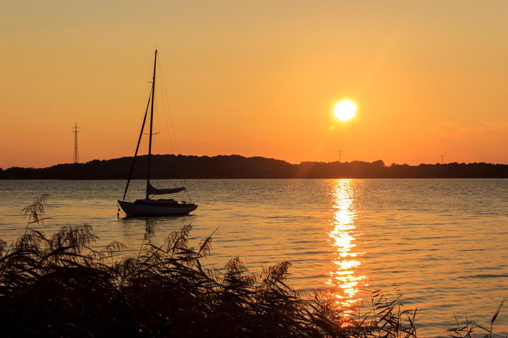 Sieseby an der Schlei | Sonnenuntergang in Sieseby an der Schlei