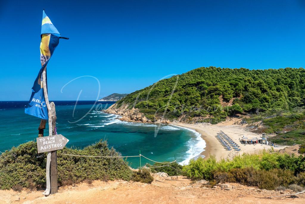 Agistros | Der Strand Agistros auf Skiathos