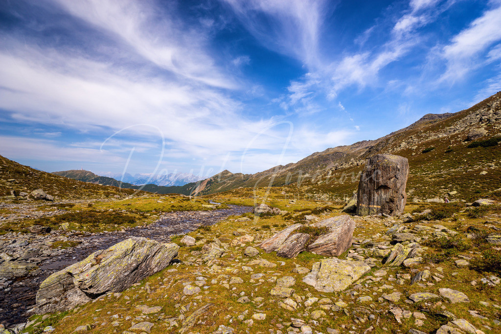 Viggartal | Der beschriebene Stein am Ende des Viggartales