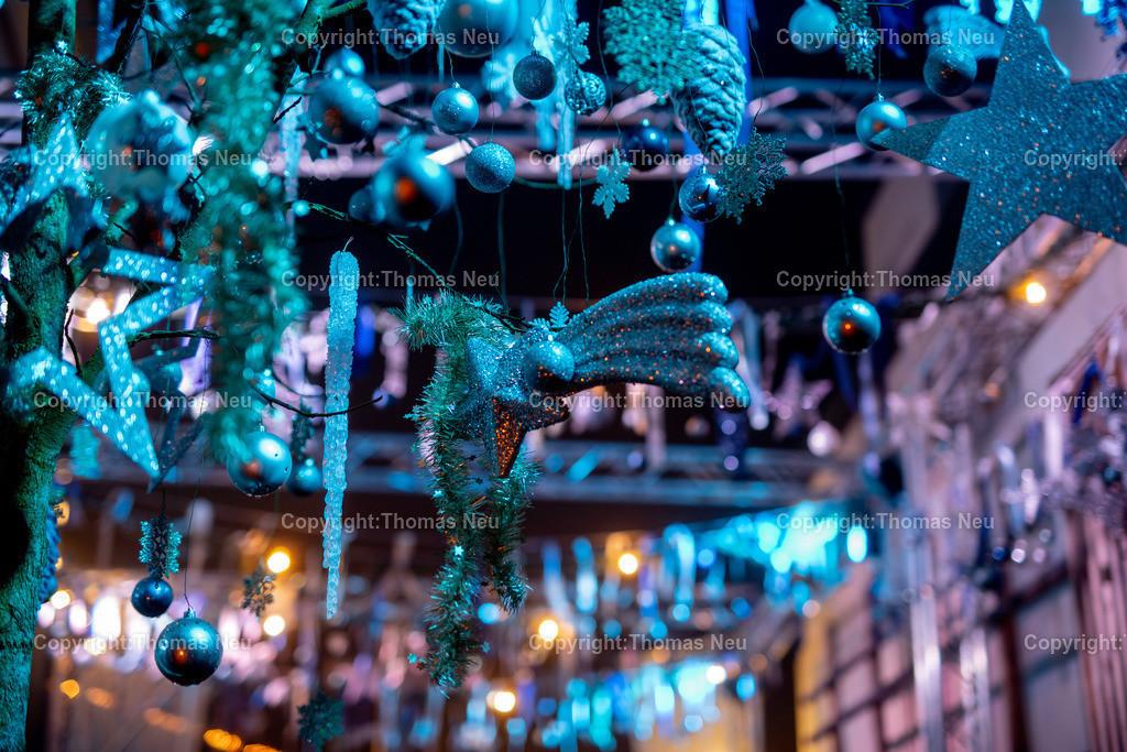 DSC_4019 | ble,Lorsch, blaues Weihnachtswunder, Innenstadt, ,, Bild: Thomas Neu