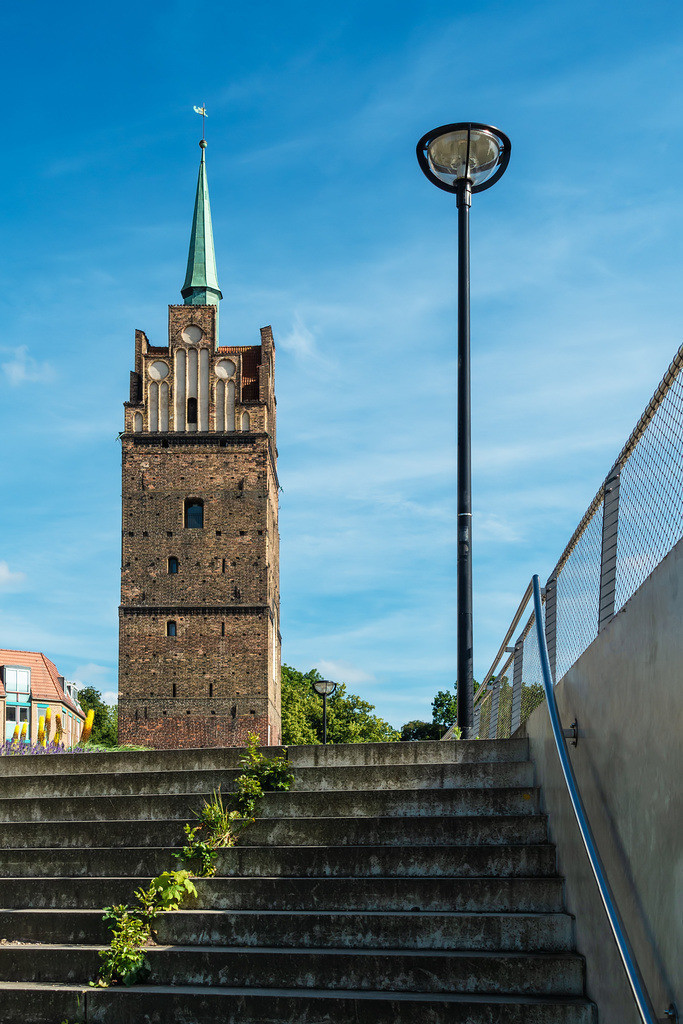 Blick auf das Kröpeliner Tor in Rostock | Blick auf das Kröpeliner Tor in Rostock.