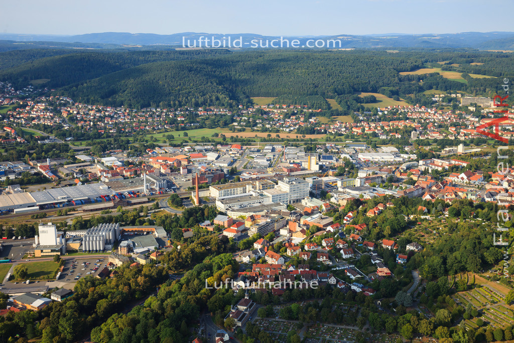 luftbild-kulmbach-2012-2259 | Luftbild von  Kulmbach - Luftaufnahme wurde 2012 von https://frankenair.de mittels Flugzeug (keine Drohne) erstellt - die Geschenkidee