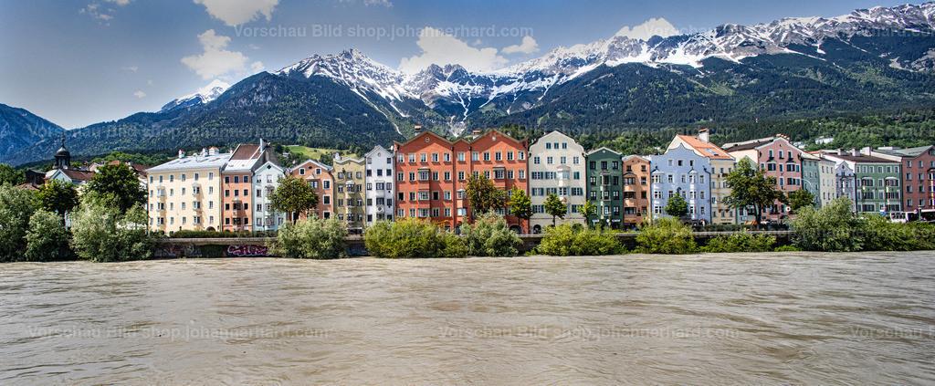 Innsbruck, hoher Wasserstand 2019