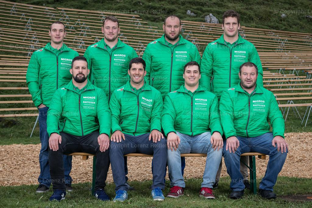 Schwingen -  NOSV Zusammenzug 2019   Schwägalp, 7.8.19, Schwingen - NOSV Zusammenzug. Team Graubünden (Lorenz Reifler)