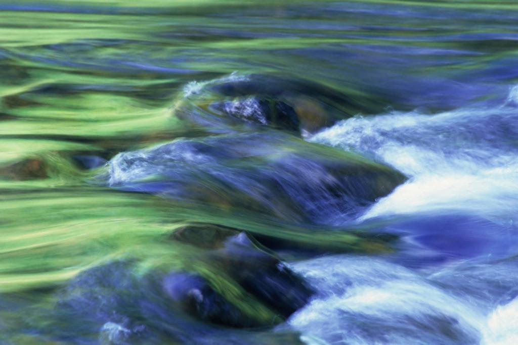 Wasser 03 | Im Fließen Wailua Falls, Kaua'i, Hawai'i