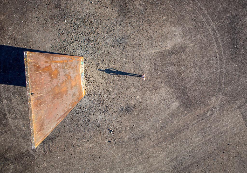 JT-130906-004 | Schurenbachhalde, Kunstwerk des britischen Kuenstlers Richard Serra,