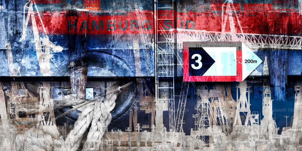 11732112 - Hamburger Hafen abstrakt