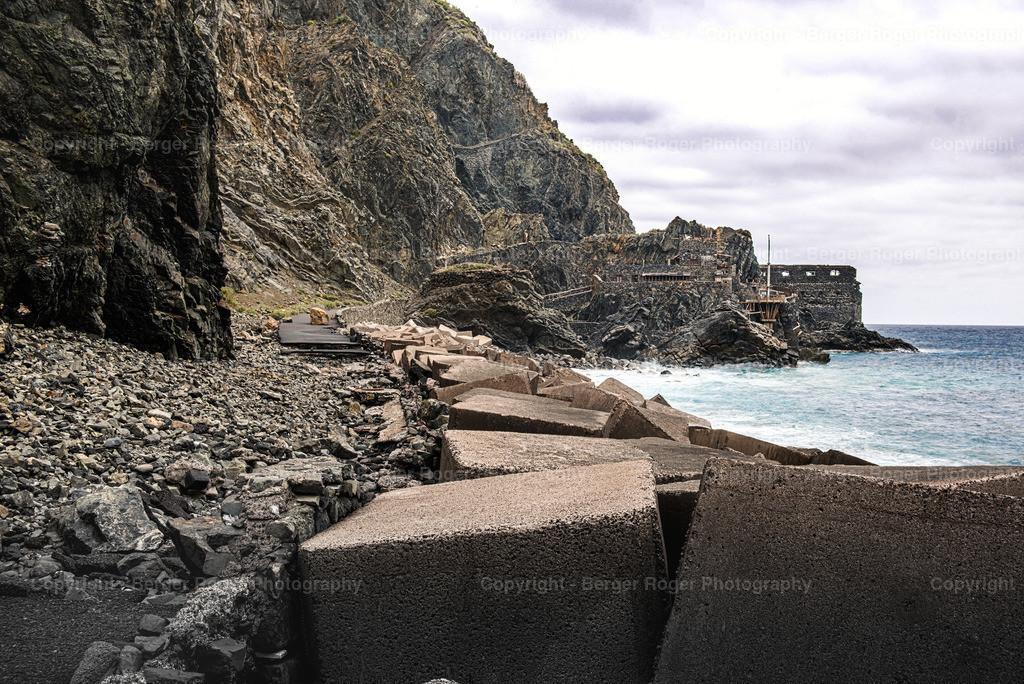 Castillo del Mar / La Gomera | Das verlassene Castillo del Mar auf La Gomera