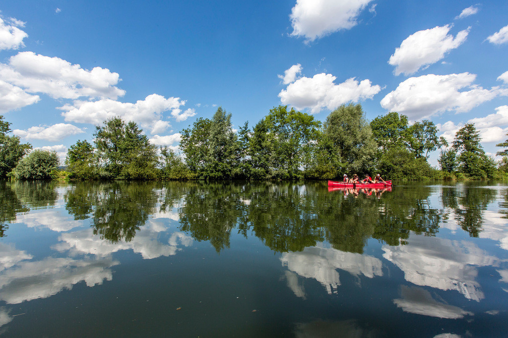 JT-130804-827   Kanu Tour bei Schwerte, paddeln auf der Ruhr