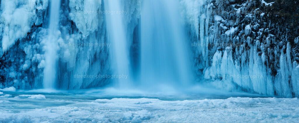Icefall | Icefall Wasserfall Island