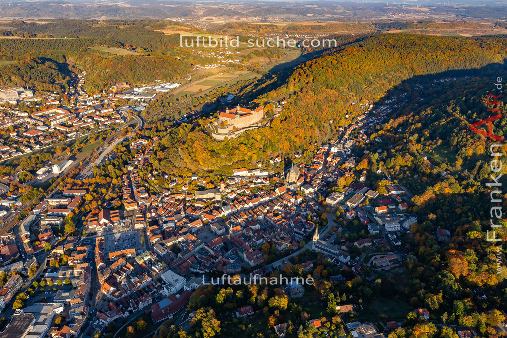 obere-stadt-kulmbach-18-376 | aktuelles Luftbild von Obere-stadt Kulmbach - Luftaufnahme wurde 2018 von https://frankenair.de mittels Flugzeug (keine Drohne) erstellt.