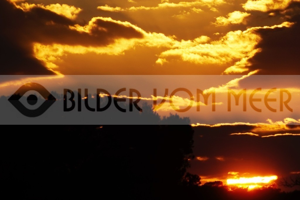 Bilder Sonnenuntergang | Sonnenuntergang im Naturpark La Mata