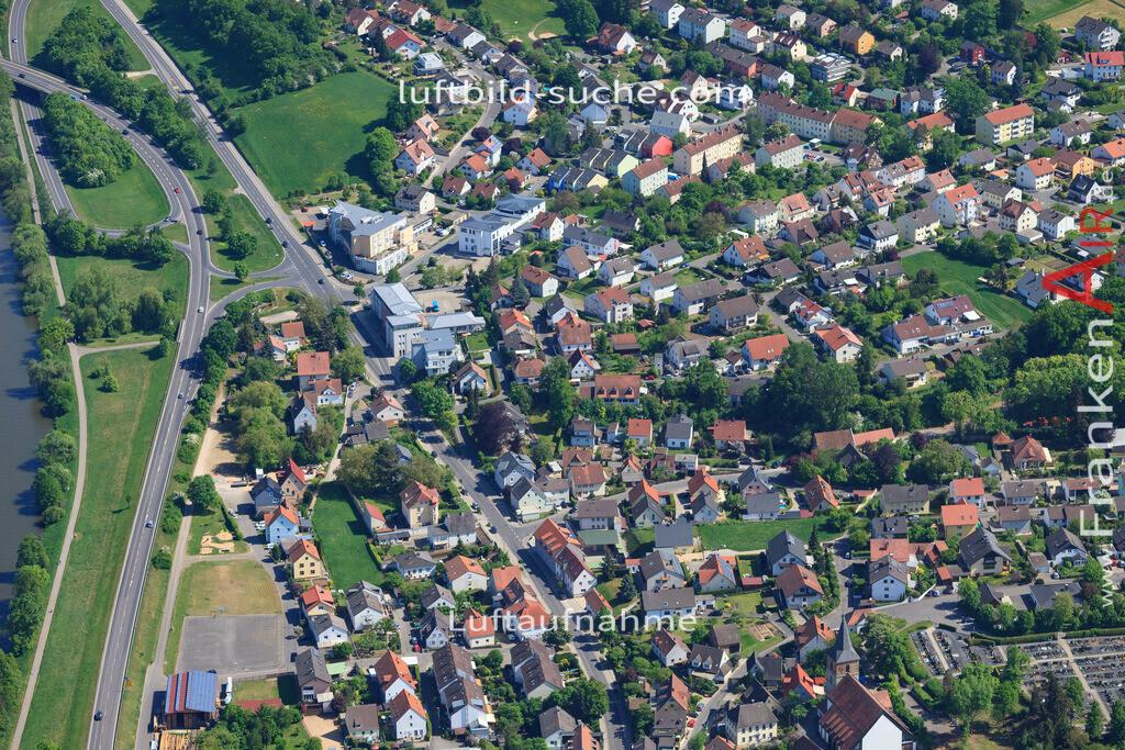 bischberg-18-337 | aktuelles Luftbild von  Bischberg - Luftaufnahme wurde 2018 von https://frankenair.de mittels Flugzeug (keine Drohne) erstellt.