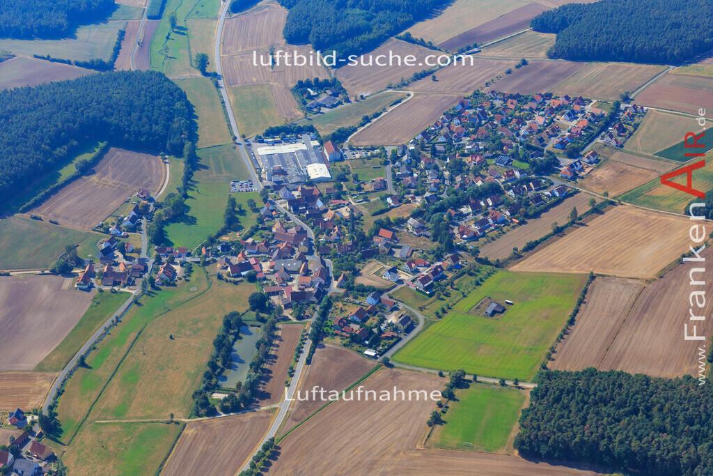 frimmersdorf--2016-2884 | Luftbild von Frimmersdorf Vestenbergsgreuth - Luftaufnahme wurde 2016 von https://frankenair.de mittels Flugzeug (keine Drohne) erstellt - die Geschenkidee