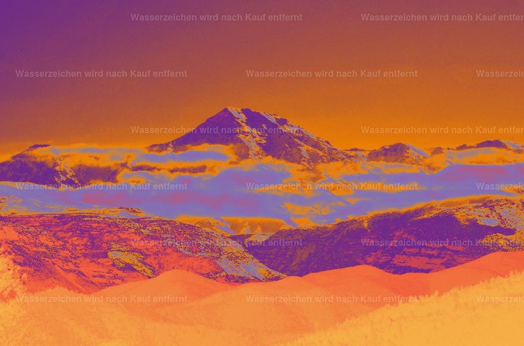 The Atlas | Landschaft Coloriertes, Kunstwerk, Marokko, Marrakesch, Photokunst, wallpaper, art