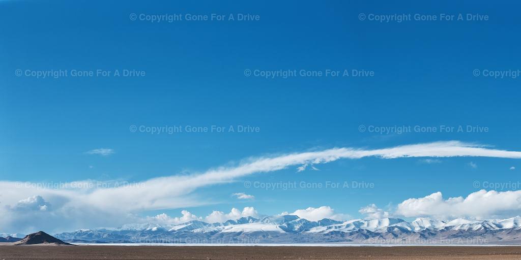 Tadschikistan | Panorama der Berge des Pamir Gebirges am Karakul See auf etwa 4.000 m Höhe.