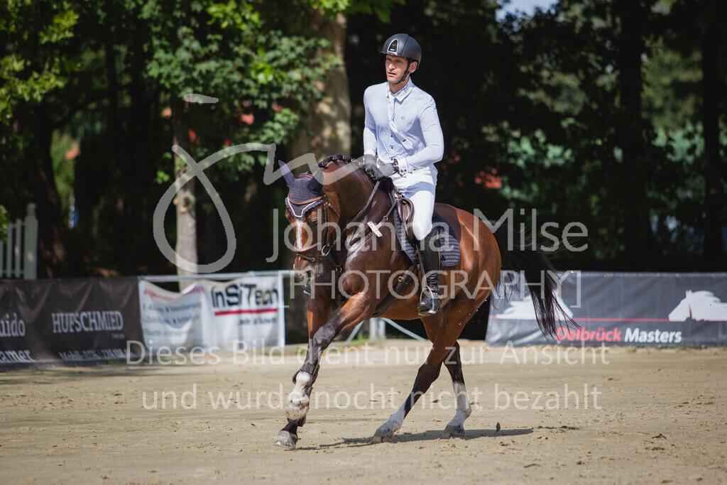 200819_Delbrück_Sprpf-A_1_2-042 | Delbrück Masters 2020 Springpferdeprüfung Kl. A* 4jährige Pferde