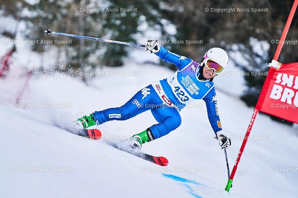 ALS5795_WWMG_GS-II_C   (C) FotoLois.com, Alois Spandl, WinterWorldMastersGames 2020 Innsbruck, Giant Slalom-II Gruppe C Damen, Patscherkofel Olympiaabfahrt, Mi 15. Jänner 2020.