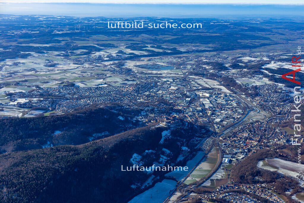kulmbach-19-129 | aktuelles Luftbild von  Kulmbach - Luftaufnahme wurde 2019 von https://frankenair.de mittels Flugzeug (keine Drohne) erstellt.