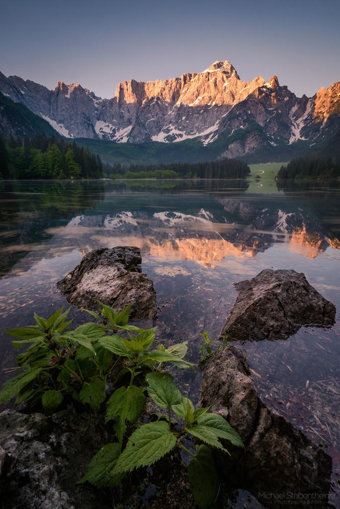 Laghi di Fusine | Sonnenaufgang bei den Laghi di Fusine in Italien