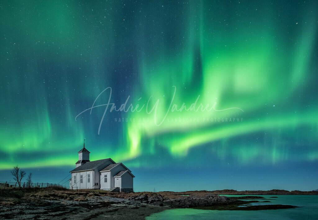 Polarlicht über Gimsoy