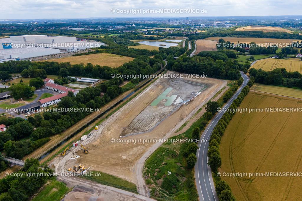 20190707-Luftbilder HRB Ellinghausen | 07.07.2019 in Dortmund (Nordrhein-Westfalen, Deutschland) Luftbilder HRB Ellinghausen  Foto: Michael Printz / PHOTOZEPPELIN.COM