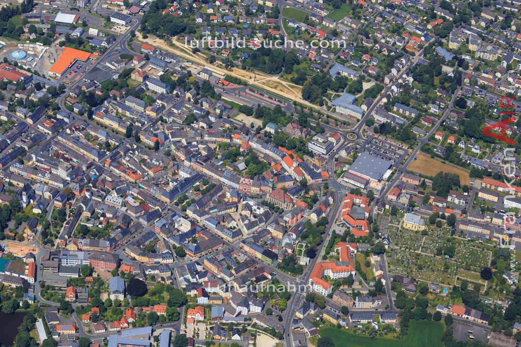 wunsiedel-2014-108 | Luftbild von  Wunsiedel - Luftaufnahme wurde 2014 von https://frankenair.de mittels Flugzeug (keine Drohne) erstellt - die Geschenkidee