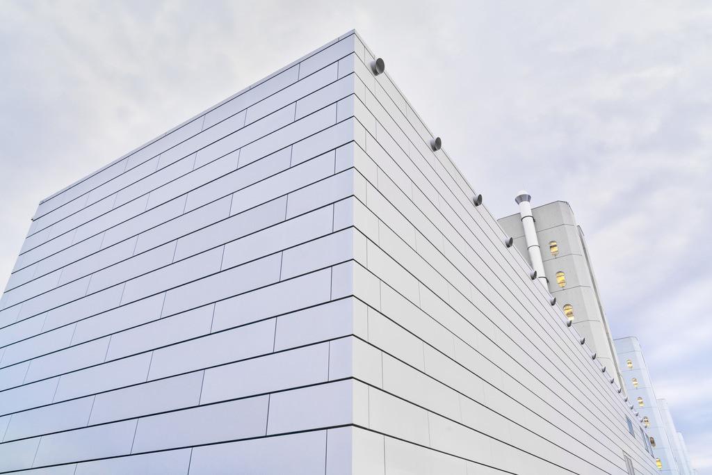Universität Bielefeld | Architekturdetail an der Universität Bielefeld.