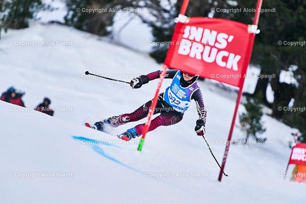 ALS5591_WWMG_GS-II_C | (C) FotoLois.com, Alois Spandl, WinterWorldMastersGames 2020 Innsbruck, Giant Slalom-II Gruppe C Damen, Patscherkofel Olympiaabfahrt, Mi 15. Jänner 2020.