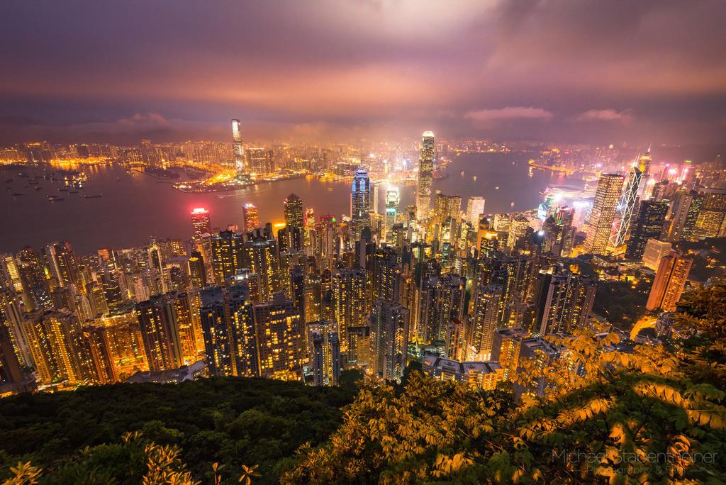 Hong Kong | Hongkong from the Peak