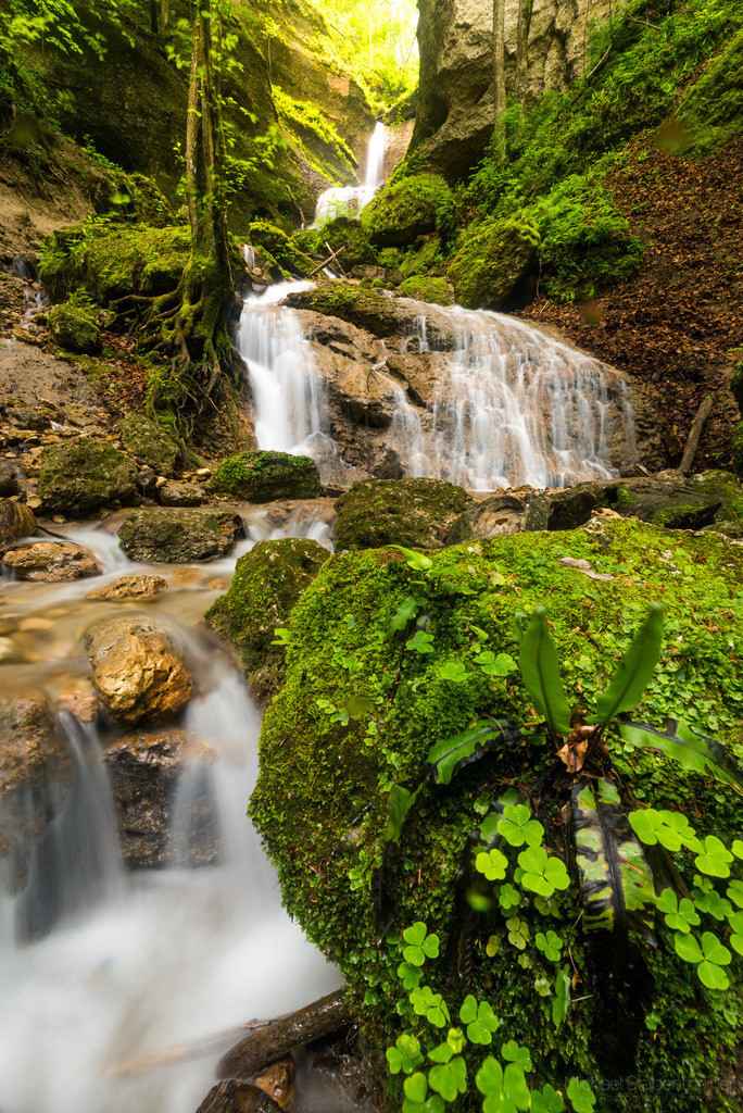 MS-Photo_Natur-21 | Langzeitbelichtung vom Ebenthaler Wasserfall bei Klagenfurt