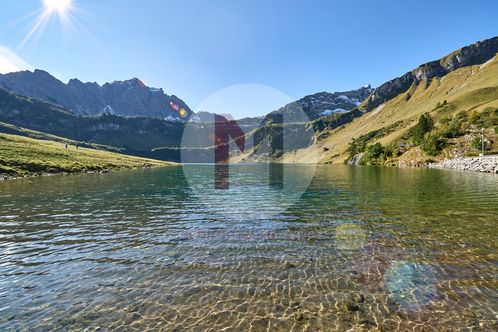 Traualpe und Traualpsee, Tannheimertal, Tirol, Österreich