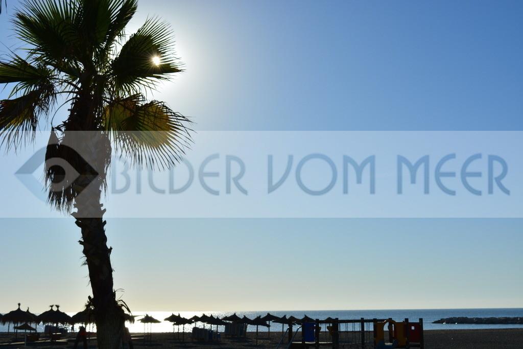Strand Bilder | Sonne am Strand in Malaga