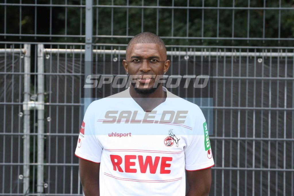 1. FC Köln Fotoshooting | Anthony Modeste - © Sportfoto-Sale (MK)